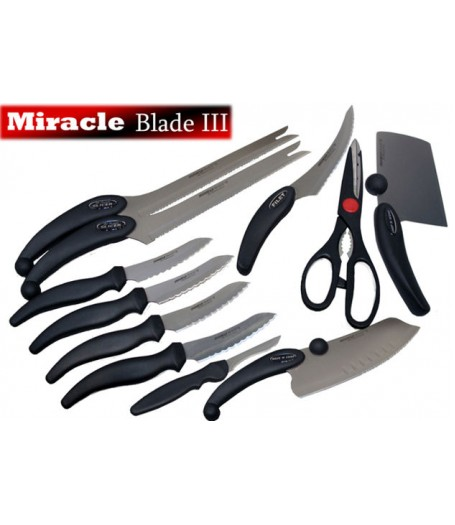 Miracle Blade III 11-pc. Knife Set